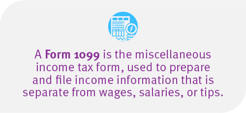 Form 1099 definition