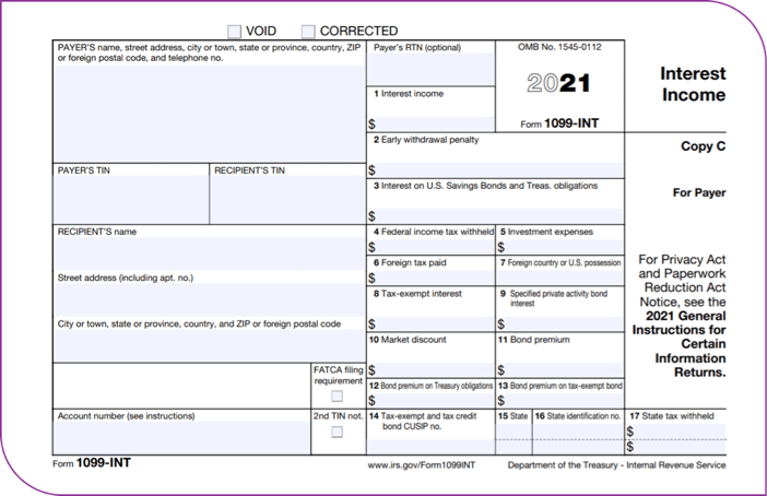 Form 1099 sample for nonprofits