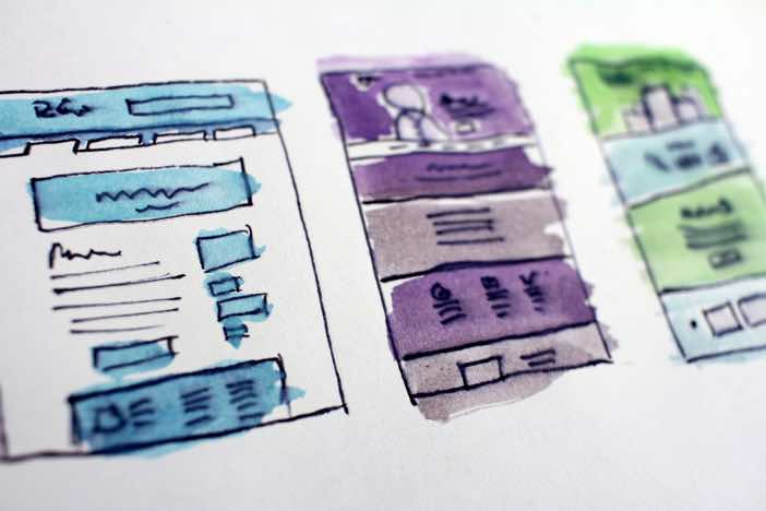 Web page layouts